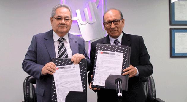 ANA Perú suscribió convenio interinstitucional Oficina Nacional Procesos Electorales