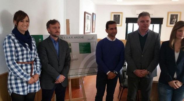 nueva EDAR Aroche tendrá capacidad atender vertidos 7.000 habitantes