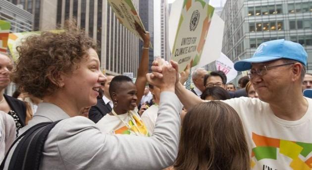 300.000 personas se manifiestan Nueva York exigir acciones cambio climático