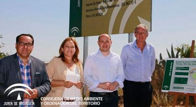 macha obras nueva EDAR ' Cautivo' Níjar