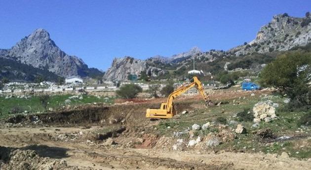Adjudicada terminación red saneamiento área industrial Grazalema Cádiz