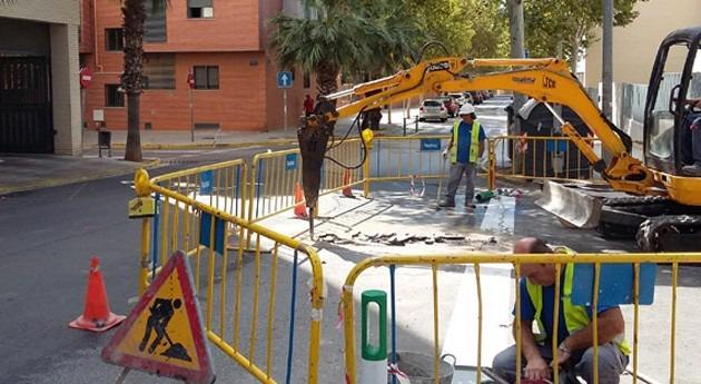 Paterna comienza obras evitar inundaciones calles