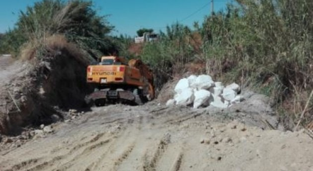 Comienza mejora capacidad hidráulica arroyo Huerta Nido Córdoba