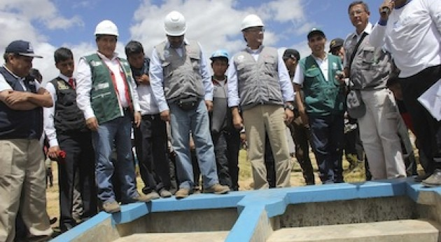 Ministerio Agricultura Perú destinará 70 millones dólares obras fondo Mi Riego