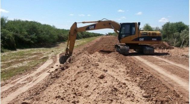 espera autorización canalización río Pilcomayo lado argentino