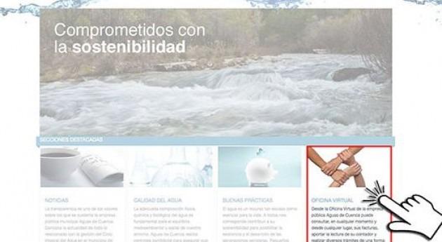 Aguas de cuenca pone en marcha su oficina virtual for Oficina virtual de empleo castilla la mancha