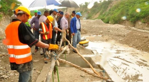 Se rehabilita canal riego Hernán Cortez Azua, afectado tormentas Sandy e Isaac