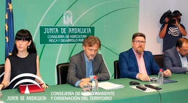 Andalucía reclama puesta servicio presa Siles uso agua 2018