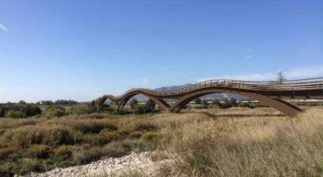 Recreación presentada por las administraciones públicos de cómo será el proyecto. ©Diputación de Málaga