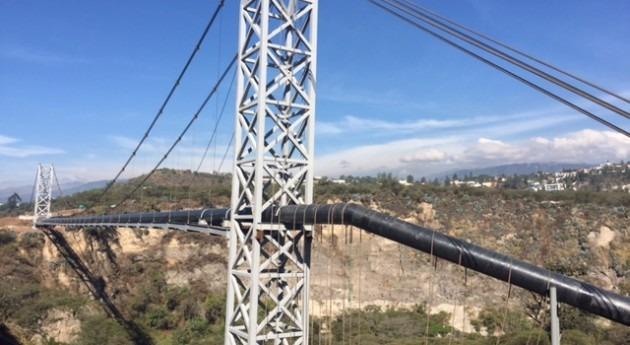 EPMAPS finaliza construcción pasos elevados ríos San Pedro, Pita y Santa Clara