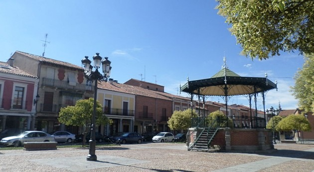 Plaza de España de Peñaranda de Bracamonte