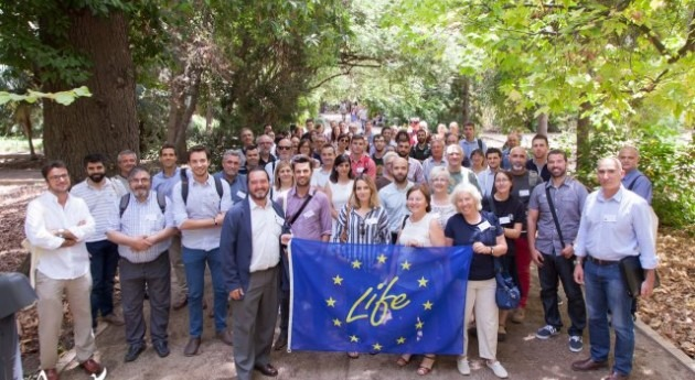 """proyecto LIFE Albufera presente Workshop """"Nature in the city"""""""