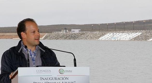 persa Piedras Azules permitirá incorporación más 600 hectáreas al riego agrícola