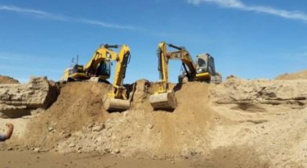 máquinas ya trabajan territorio argentino apertura nuevo canal Pilcomayo
