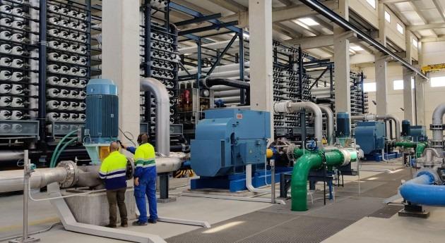 desaladora Mutxamel alcanza 5 hm3 agua suministrada inicio campaña