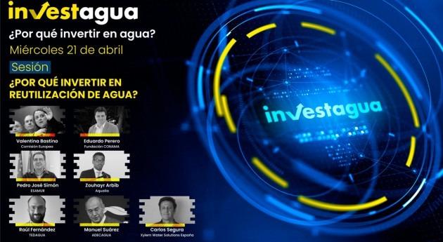 """expertos INVESTAGUA: """"Hay tecnología circularidad agua, pero falta inversión"""""""