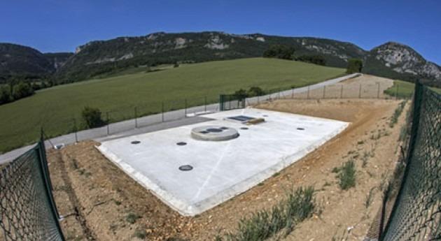 Arteta estrena nuevo sistema saneamiento y depuración