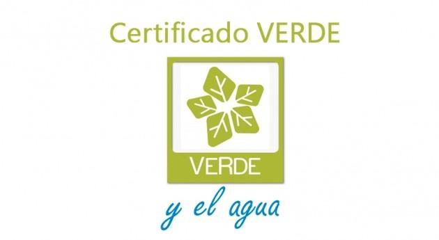 Construcción sostenible: Certificado VERDE y agua
