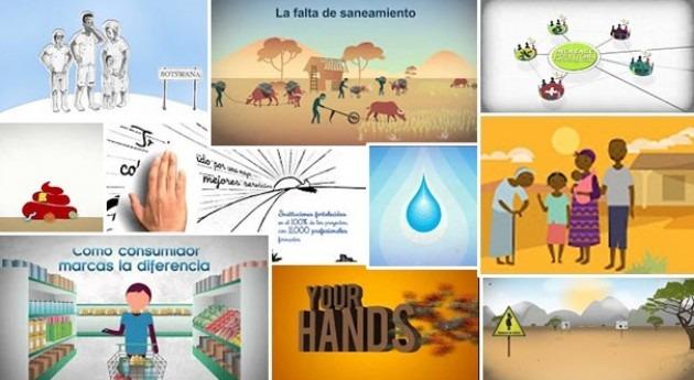 10 vídeos cortos animación agua y saneamiento
