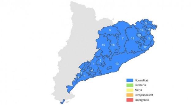 semáforo sequía y coronavirus