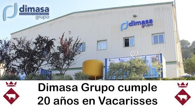 Dimasa Grupo cumple 20 años Vacarisses