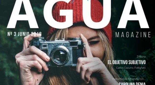 Fundación Aquae dedica último número AGUA Magazine PhotoAquae 2018