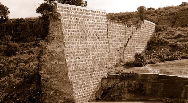 Algunas características generales grandes presas construidas #GranCanaria