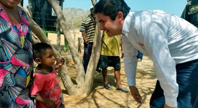 Colombia financiará planta potabilizadora definitiva Siapana, Guajira