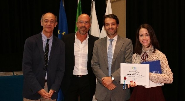 Degrémont premia al mejor alumno Ingeniería Sanitaria Universidade Nova Lisboa