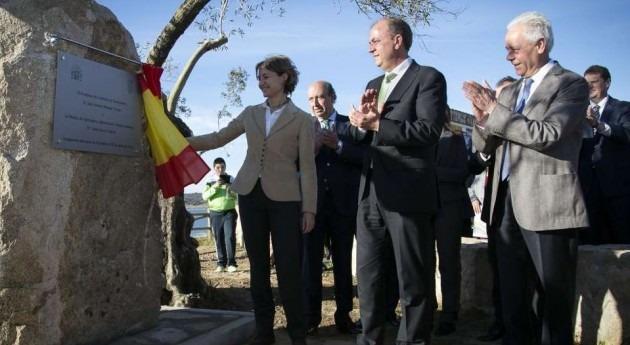 recién inaugurada presa Alcollarín permitirá puesta marcha 11.000 hectáreas regadío