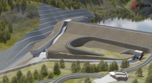 Confederación Hidrográfica Ebro informa avances embalse Terroba