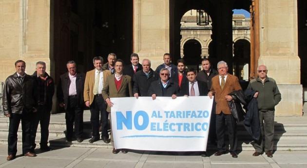 presidente Diputación Jaén muestra apoyo regantes subida costes eléctricos