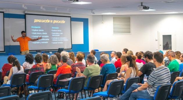 veintena profesores españoles viaja sede CERN beca Fundación Aquae