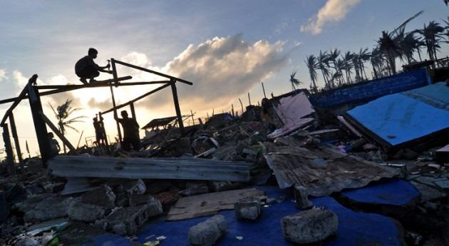 Recuperación de la tormenta en Filipinas. Cortesía de Richard Reyes/GFDRR