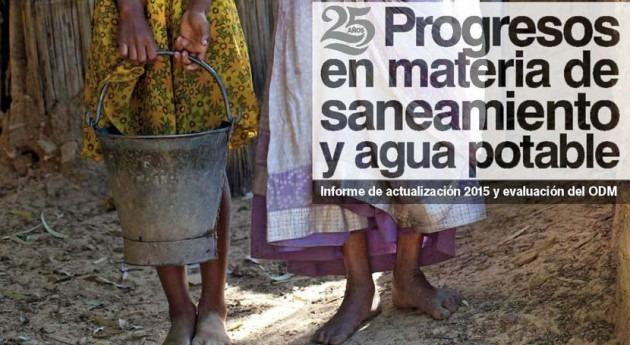 Agua, saneamiento e higiene Objetivos Desarrollo Milenio. Y ahora, ¿qué?