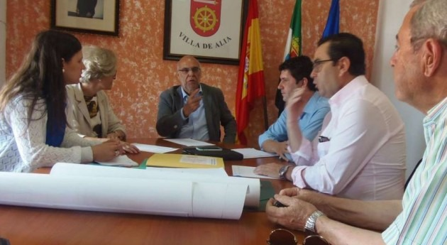 primera reunión Red Temática Regadíos España, Portugal y Francia se celebra Mérida