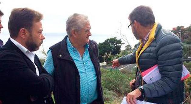 Canarias invierte 1,36 millones euros red riego Hoya Limpia Mazo