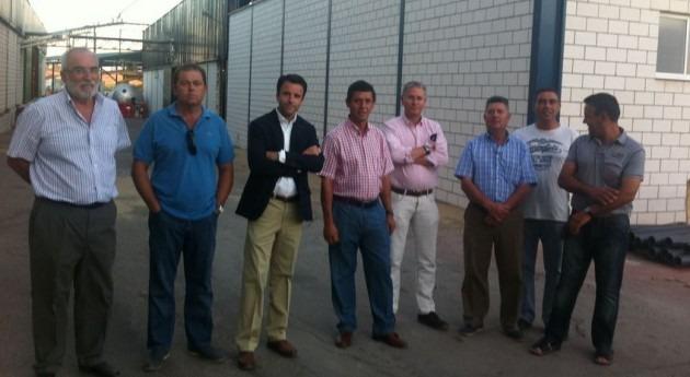 Junta Extremadura estudia financiación regadíos Monterrubio Serena y Tierra Barros