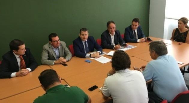 regantes Condado Huelva recibirán 4.500 m3 hectárea y año