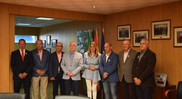 Susana Díaz visita Comunidad Regantes Palos Frontera