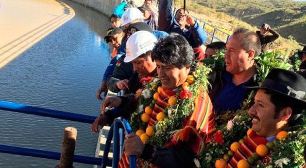 nueva represa asegurará riego 330 hectáreas Presto