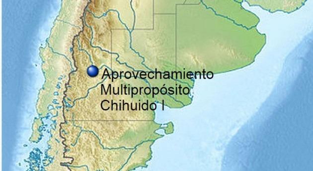 Localización de la represa (Wikipedia/CC).