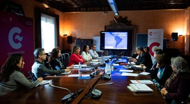 FCAS AECID y BID celebran reunión cuatrimestral Madrid