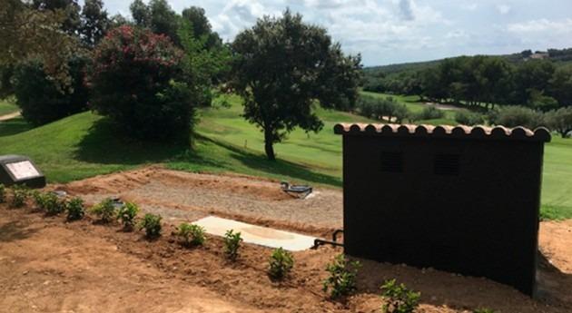 Reutilización aguas residuales riego campo golf Costa Dorada, Tarragona