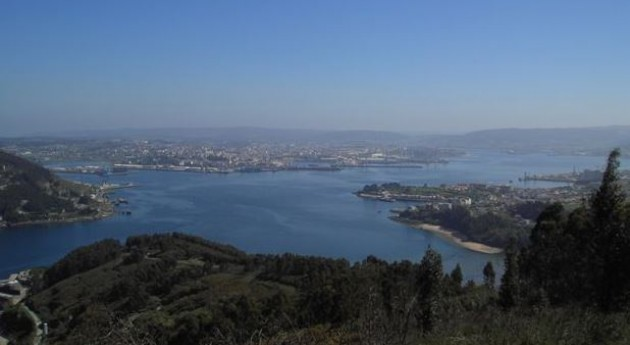 Ría de Ferrol.