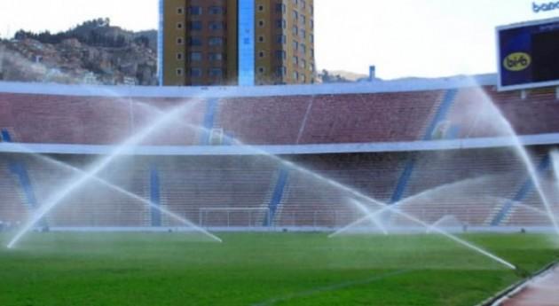 Pan y circo, agua y fútbol