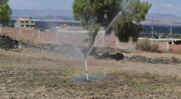 nuevo sistema riego optimiza producción agrícola Quillacollo, Bolivia