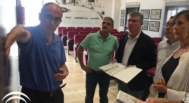 Comprobada eficiencia riego Comunidad Regantes Sur-Andévalo