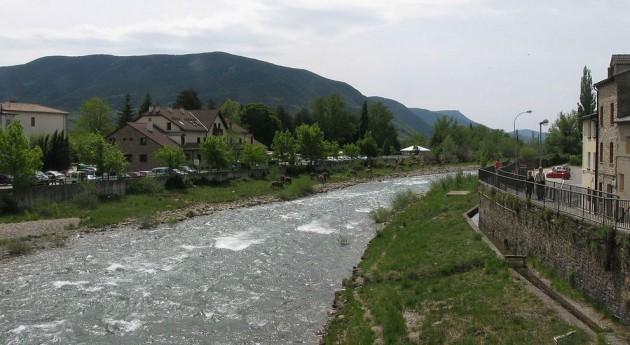 niveles lindano río Gállego, debajo nivel detección