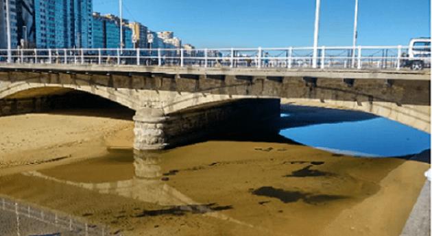 río Piles y EDAR Gijón Este